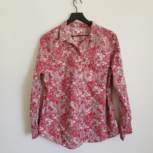 Old Navy Size XL Floral print Long Sleeve Blouse